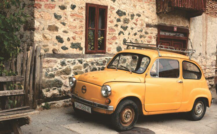 Masa detali wyróżniająca bardzo małe samochody